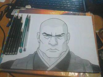 Zaheer - Avatar - The legend of Korra by tsu-neko-chan