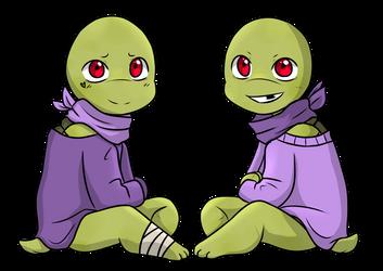 Niccolo and Donatello by Shaebertooth
