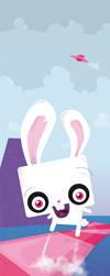 crazy bunny by shecro