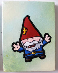The Gnome Fan by pockets1987