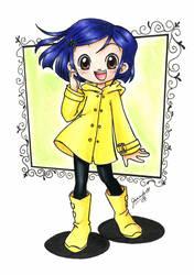 Anime Coraline by chibi-jen-hen