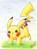 Pikachu by chibi-jen-hen