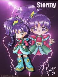 Anime Stormy from RainbowBrite by chibi-jen-hen