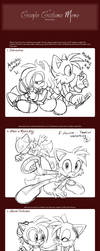 Another Costume Meme ft. Ruby and Tails by chibi-jen-hen