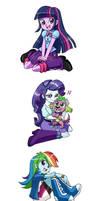 Equestria Girls ::REPOST:: by chibi-jen-hen