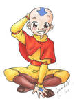 Aang the Avatar by chibi-jen-hen