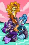 The Dazzling Sirens by chibi-jen-hen