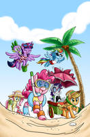 My Little Pony Variant Cover by chibi-jen-hen