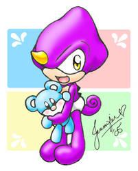 Baby Espio by chibi-jen-hen