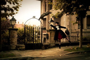 Mary Poppins by Gurololi