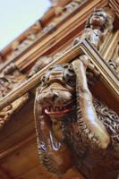 A small Monster under a Balcony by Kalabint