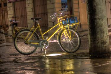 A Cycle in Lyon by Kalabint