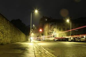 A Street in Lyon by Kalabint