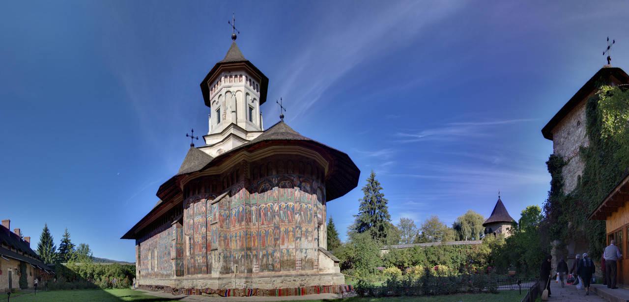 Moldovita Monastery Church by Kalabint