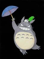 Totoro by uialwen