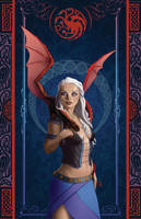 Daenerys by uialwen