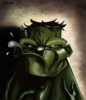The Incredible Hulk by ArtofOkan