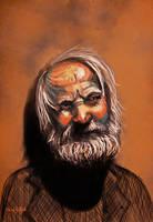 Old man by ArtofOkan
