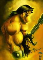 Conan by ArtofOkan