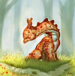 Baby Dinosaur by ArtofOkan
