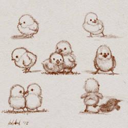 Chicks Character Sheet by ArtofOkan