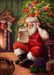 Santa by ArtofOkan