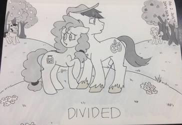INKTOBER Day 2 - Divided by thesaltypretzel