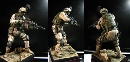 US Marines Force Recon by MarcWasHere