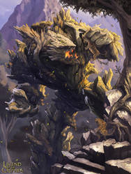 Legend of the Cryptids - Woodland Behemoth 2.0 by MarcWasHere