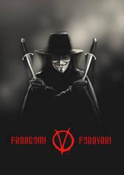 V for Vendetta by MarcWasHere
