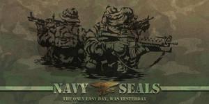 NAVY SEALS II by MarcWasHere
