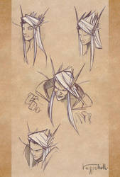 Belf Sketches by pierdrago