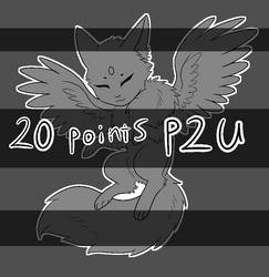 P2U 20 Point Cute Winged Critter Base by Crow-Faced