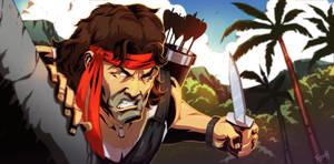 Rambo Colored by ifesinachi