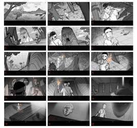 The boy Storyboards by ifesinachi