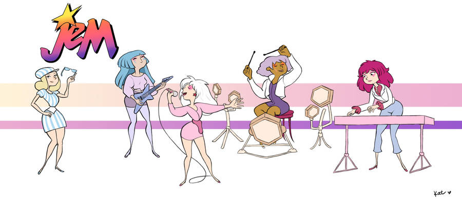 JEM AND THE HALLOGRAMS by AmourFonce