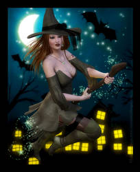 The Witching Hour by RavenMoonDesigns