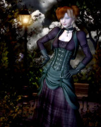 By The Lamplight by RavenMoonDesigns