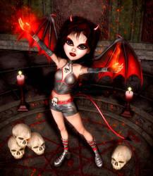 Demonic Summonings by RavenMoonDesigns