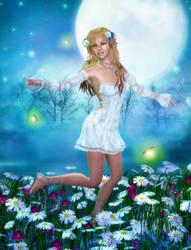 Moonlight Frolic by RavenMoonDesigns