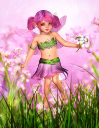 Sweet Summer Blossoms by RavenMoonDesigns