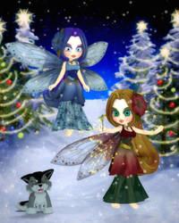 Winter Solstice Magic by RavenMoonDesigns