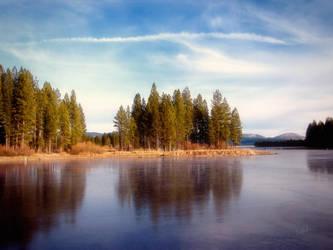 Frozen Reservoir by RavenMoonDesigns