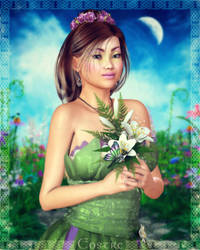 Eostre at Ostara by RavenMoonDesigns