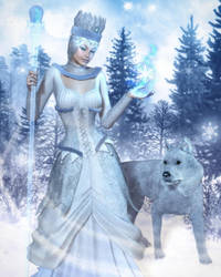 Winter's Sovereignty by RavenMoonDesigns