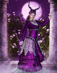 Sweetness of a Winter's Rose by RavenMoonDesigns