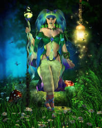 Spirit of the Forest by RavenMoonDesigns