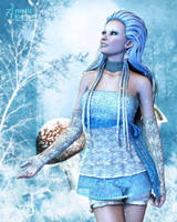 Winter's Delicate Touch by RavenMoonDesigns