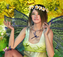 Song of the Dragonflies by RavenMoonDesigns