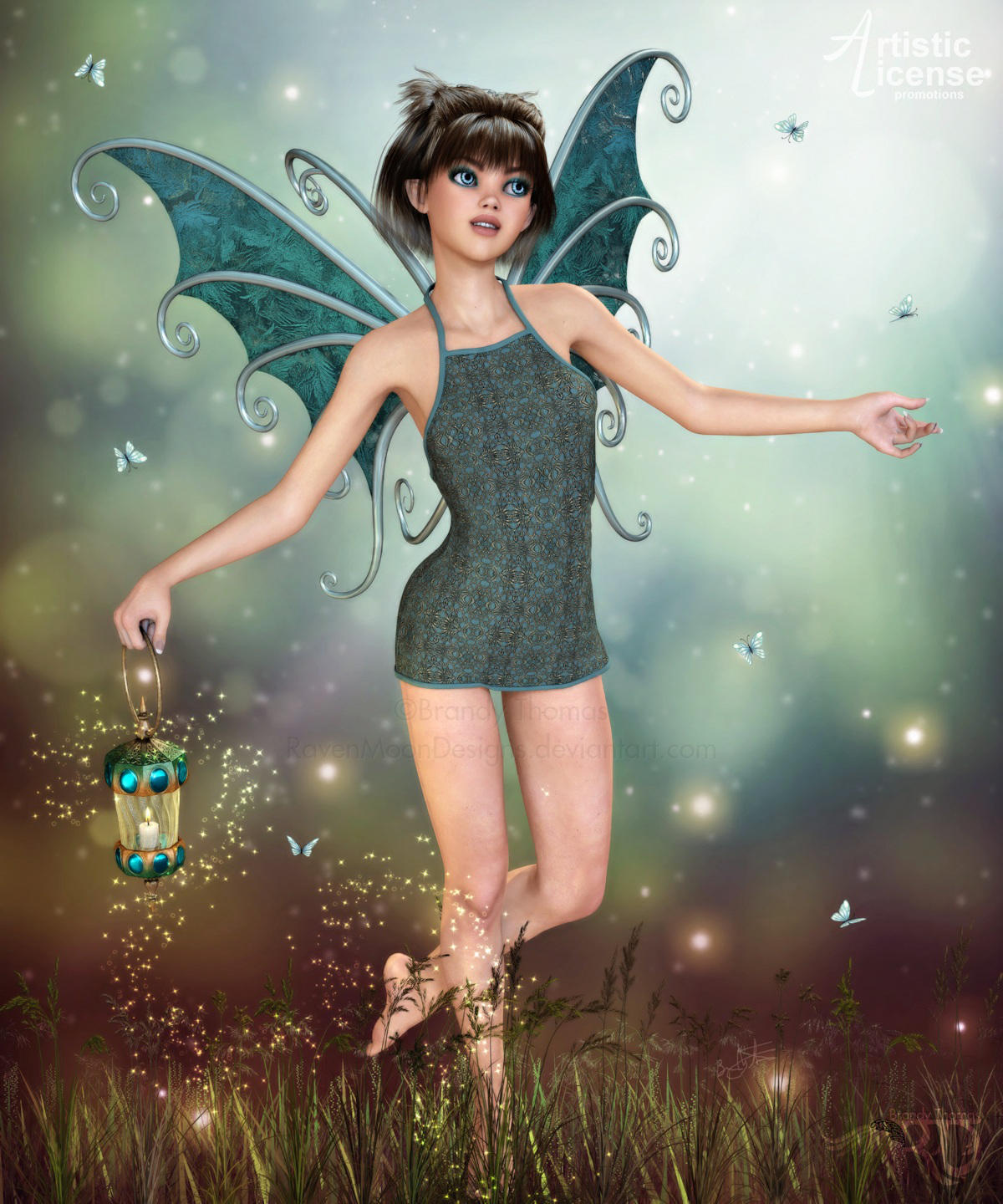 Dance with Butterflies by RavenMoonDesigns